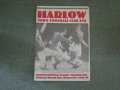 Harlow  V  Charlton Athletic  (Fac)  22-11-80