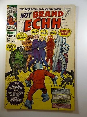 "Not Brand Echh #1 ""Who says a Comic has to be Good!"" VG Condition!! Cool Read!!"