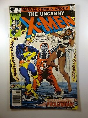 "The Uncanny X-men #124 ""Proletarian!"" Colossus: A Traitor Good Condition! Reader"