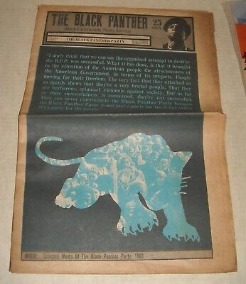 1/3 1970 The BLACK PANTHER PARTY NEWSPAPER SELECTED WORKS of the BPP HILLIARD