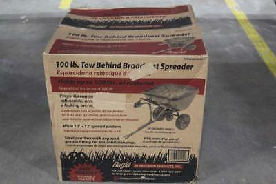 Precision Products TBS4500PRCGY 100lb Broadcast Spreader
