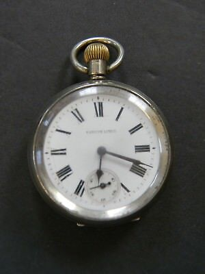 Vintage Swiss Made Railway Regulator Pocket Watch - Railroad Watch