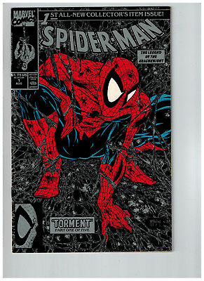 Spider-Man #1 McFarlane Silver Cover --Cleaning out my Closet!