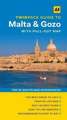 AA Twinpack Guide to Malta & Gozo (Aa Twinpack Guides) by AA Publishing   Paperb