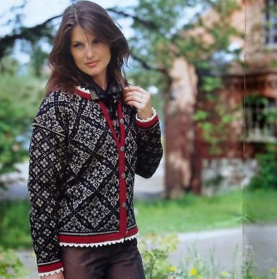 Dale Of Norway Sweater Vest Hats Norwegian Knitting Patterns Book