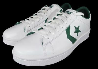 9900c6a0765f05 Converse Cons Pro Leather Ox Low Top Oxford Sneaker Chevron WHITE GREEN  136762C