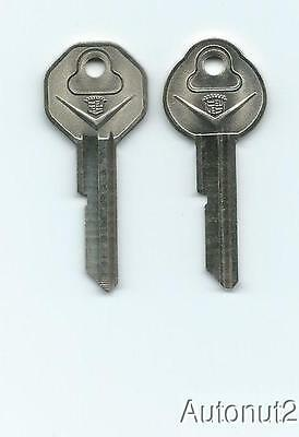 1967 CADILLAC Key Blanks  2 key set  NOS original 1966