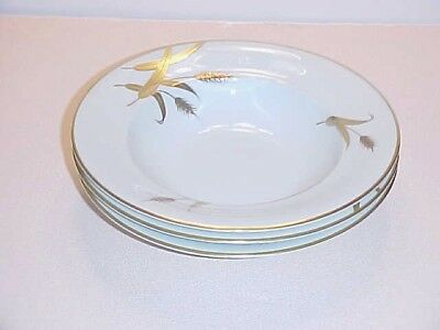 Meito ChinaEva Zeisel Design  Norleans Midas Pattern Soup Bowl Set