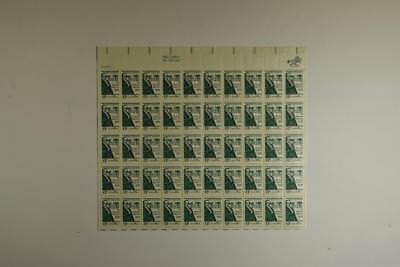 Us Scott 1380 Pane Of 50 Daniel Webster Dartmouth College Stamps 6 Cent Face Mnh