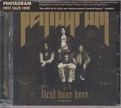 Pentagram / First Daze Here (2 CDs Reissue) (NEU! NEW)