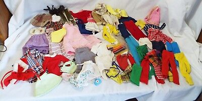 Lot of 53 Vintage Assorted Articles of BARBIE & PENNY BRITE CLOTHING Pants Veil