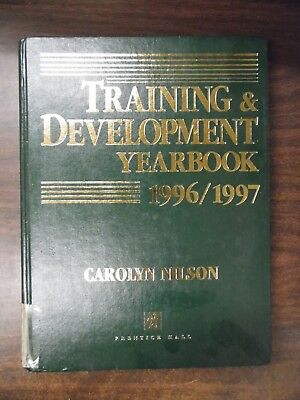 Training & Development Yearbook 1996 '97 Carolyn Nilson ExFAA Library 030918DBE3