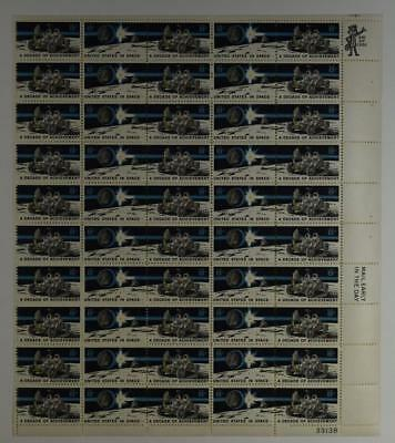 Us Scott 1434-1435 Pane Of 50 United States In Space Stamps 8 Cent Face Mnh
