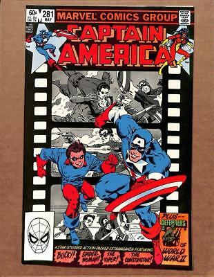 Captain America # 281 - NEAR MINT 9.8 NM - Falcon Avengers Iron Man MARVEL!
