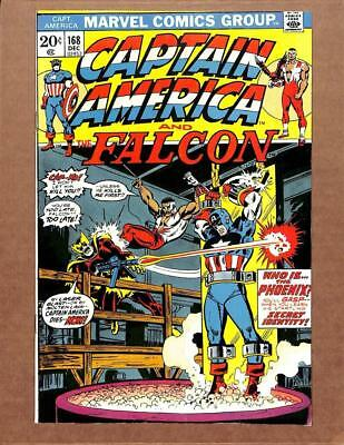 Captain America # 168 -  HIGH GRADE - Falcon Avengers Iron Man MARVEL Comics!
