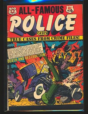All-Famous Police Cases # 6 - L.B. Cole cover VG+ Cond.