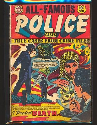 All-Famous Police Cases # 11 - L.B. Cole cover Good Cond.