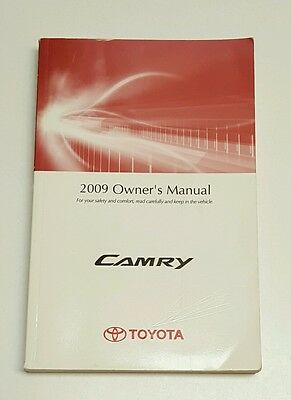 2017 toyota camry owners manual book set case le se xle xse v4 v6 rh picclick com 2009 camry owners manual pdf 2017 Camry Manual