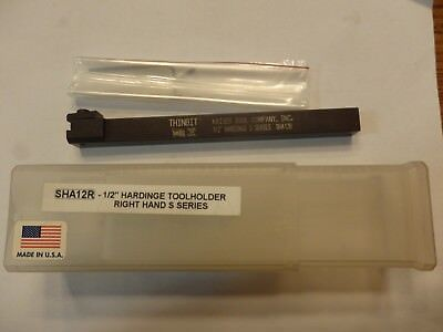 Thinbit Tool Holder Sha12R - 1/2 Right Hand