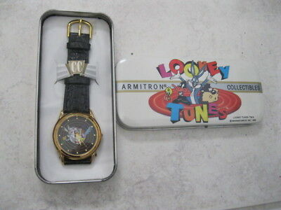Vintage Looney Tunes And Friends Armitron Watch Box 2200/37 Bugs Bunny New Old S
