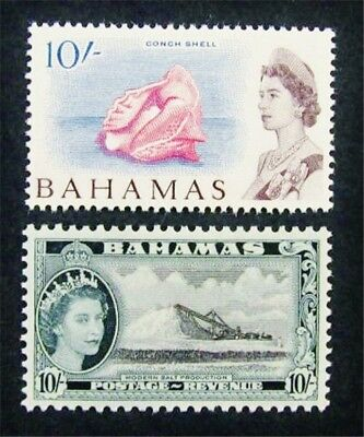 nystamps British Bahamas Stamp # 172 // 217 Mint OG H $37