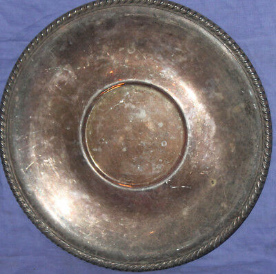 Vintage silver plated serving plate tray platter