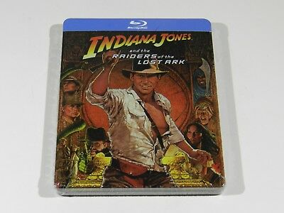Indiana Jones and the Raiders of the Lost Ark Blu-ray Steelbook Edition [UK]