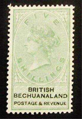 nystamps British Bechuanaland Stamp # 19 Mint OG H $110