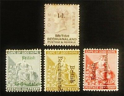 nystamps British Bechuanaland Stamp # 23 // 39 Mint OG H $36