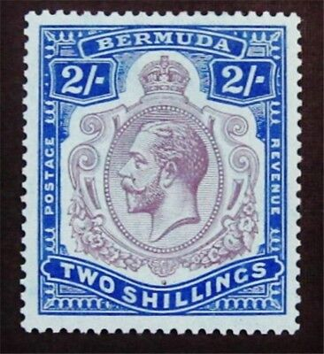 nystamps British Bermuda Stamp # 94 Mint OG H $55