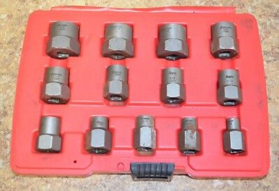 Snap On BEX13A 13pc Bolt Extractor Set Pre-owned Free Shipping