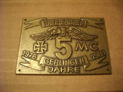 Free Eagles MC - Pin - Blechschild