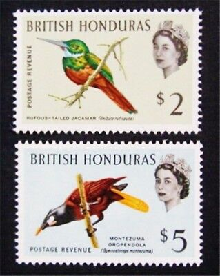 nystamps British Honduras Stamp # 177 - 178 Mint OG H $36