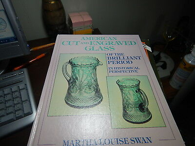 Antique Reference Book American Cut and Engraved Glass of the Brilliant Period