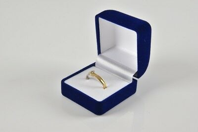 e02r30- 750 Gold Ring mit Diamant, Goldring weiss gelb, in Etui