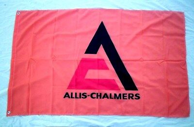 Allis Chalmers Tractor Flag 3' X 5' Polyester USA Flag Banner Man Cave NEW  327