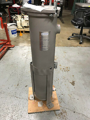 "Pentair L88302Na415-75 Bag Filter Vessel 2"" Stainless Steel 220Gpm 150 Psi"