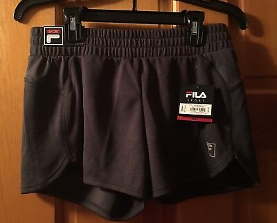 New With Tags Womans Fila Sports Shorts Tru- Dry Mid Rise Size Small