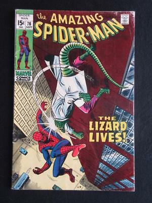 Amazing Spider-Man #76 MARVEL 1969 - John Romita, Stan Lee, silver age comics!