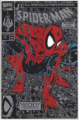 Spider-Man #1 Silver Edition ~ Unread Nm- Or Better!!