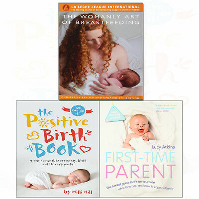 Womanly Art of Breastfeeding Diane Wiessinger Parent 3 Books Collection Set NEW