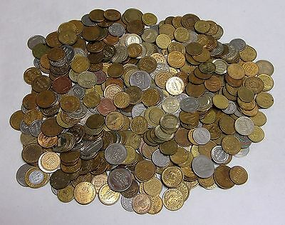 5lb. Bag of Circulated, Assorted Car Wash Tokens