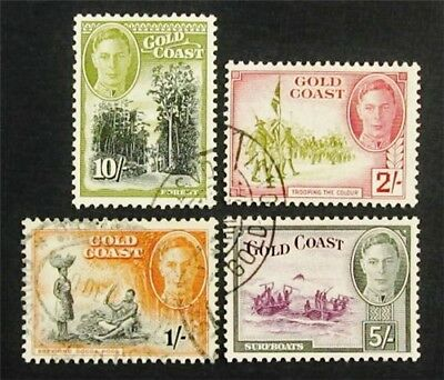nystamps British Gold Coast Stamp Rare Used High Value