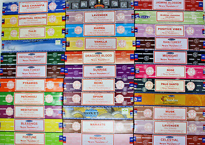 Satya Nag Champa Incense Sticks 15gm ~ Buy 7 and get 5 FREE (FREE SHIPPING!)