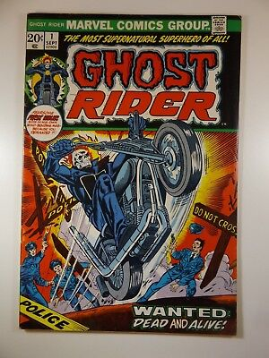 """Ghost Rider #1 """"The Most Supernatural Superhero of All!"""" Fine- Condition!!"""