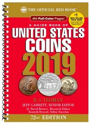 PRESALE - The Official 2019 Red Book Guide of US Coins - Spiral 72nd Edition