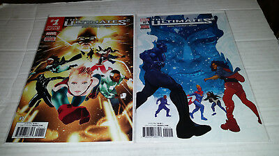 The Ultimates # 1 - 9 & 100 (2017, Marvel) 1st Print Complete Series
