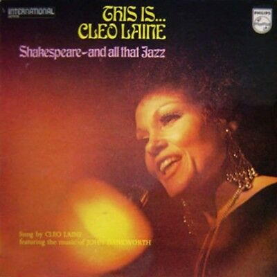 LP Cleo Laine This Is... Cleo Laine - Shakespeare, And All That Jazz NEAR MINT