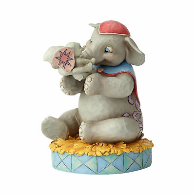 Jim Shore Disney Traditions MRS. JUMBO AND DUMBO Fig. 6000973 A MOTHER'S LOVE