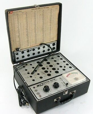 B&k Dyna-Quik 500 Vacuum Tube Tester Serviced Working * Nice!